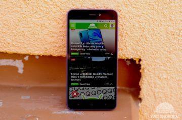 Xiaomi Redmi Go přední strana