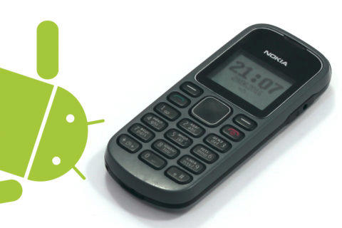 android tlacitkove telefony system