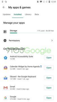 aplikace redesign google play