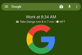 at a glance widget google novinky