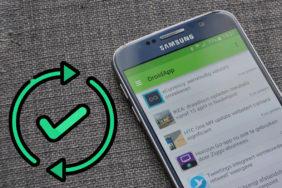 bezpečnostní aktualizace na Samsung telefonech 2019