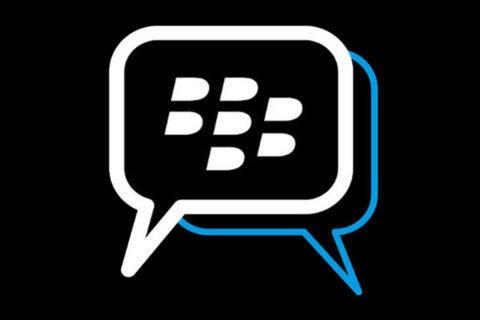 blackberry messenger konec