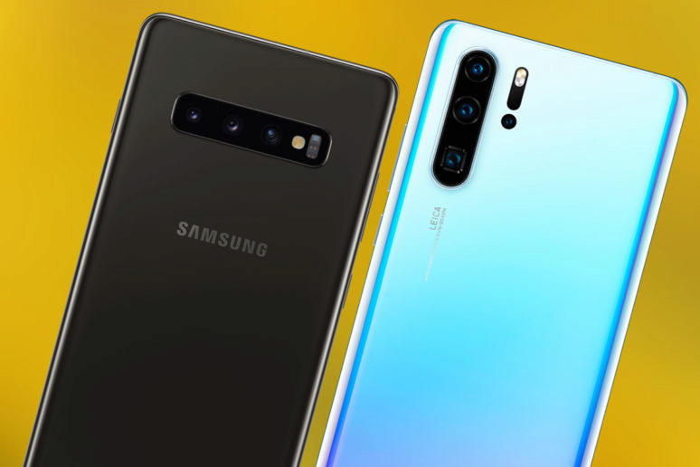 fototest huawei P30 pro vs samsung galaxy s10 plus