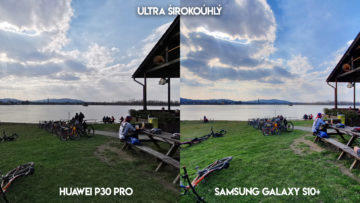 Fototest Huawei P30 Pro vs Samsung Galaxy S10 Plus jezero