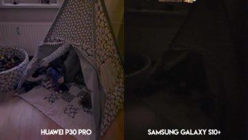 Fototest Huawei P30 Pro vs Samsung Galaxy S10 Plus noční fotografie