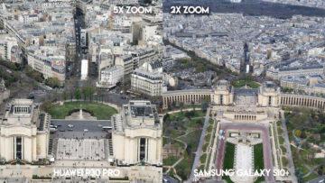 Fototest Huawei P30 Pro vs Samsung Galaxy S10 Plus pariz detail