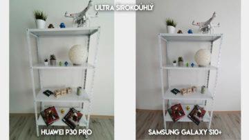 Fototest Huawei P30 Pro vs Samsung Galaxy S10 Plus police