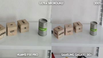 Fototest Huawei P30 Pro vs Samsung Galaxy S10 Plus police detail