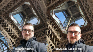 Fototest Huawei P30 Pro vs Samsung Galaxy S10 Plus selfie