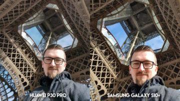 Fototest Huawei P30 Pro vs Samsung Galaxy S10 Plus selfie