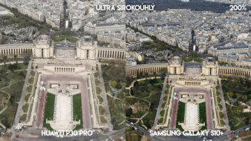 Fototest Huawei P30 Pro vs Samsung Galaxy S10 Plus ultraširokoúhlý fotoaparát detail
