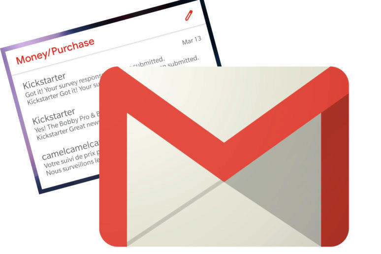 gmail novy widget google