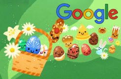 google doodles velikonoce 2019