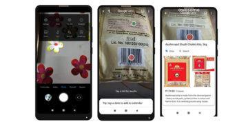 google lens xiaomi telefony