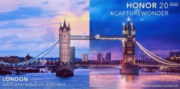 honor 20 pozvanka londyn