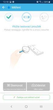 iHealth Align aplikace měření 2