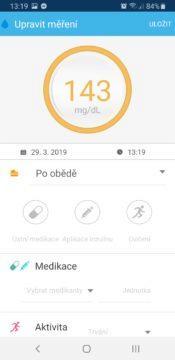 iHealth Align aplikace měření 4