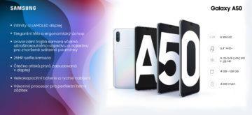 Infografika Galaxy A50