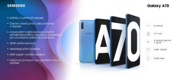 Infografika Galaxy A70