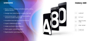 Infografika Galaxy A80