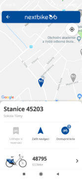 Informace o stanici