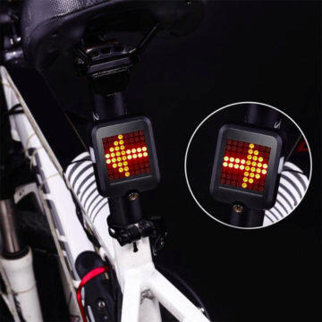 interaktivní světlo na kolo