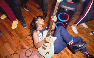 jbl partybox kytara
