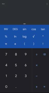 kalkulacka od googlu tmavy rezim
