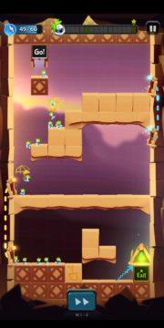 Lemmings – Android hra 02