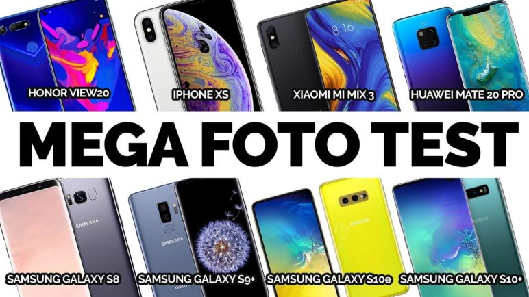 Mega fototest Samsung Galaxy, Huawei Mate 20 Pro, Xiaomi Mi Mix 3, Apple iPhone XS a Honor View 20