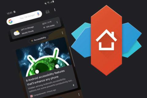nova launcher novinky verze 6.1.6