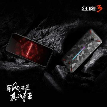 nubia red magic 3 design