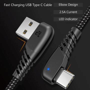 odolný usb-c kabel