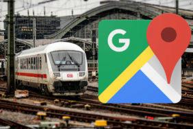 preplnene vlaky google mapy