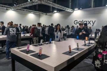 Samsung Galaxy A vystaviste