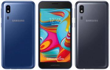samsung galaxy a2 core design