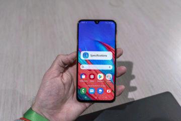Samsung Galaxy A40 displej
