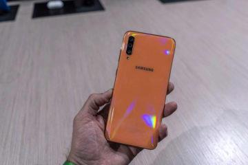Samsung Galaxy A40 zadni strana