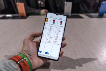 Samsung Galaxy A70 telefon