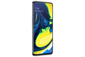 Samsung Galaxy A80 bezrameckovy displej