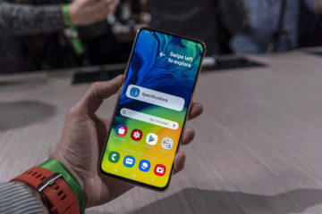Samsung Galaxy A80 displej