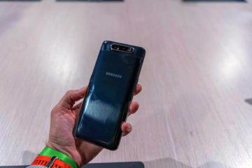 Samsung Galaxy A80 fotoaparat