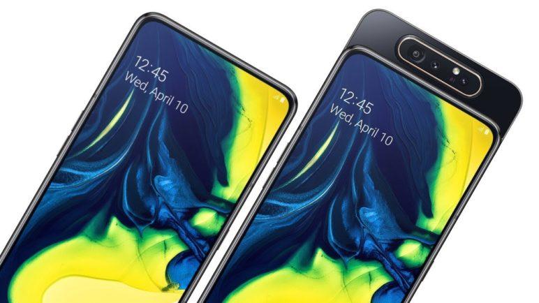 Samsung Galaxy A80 první pohled
