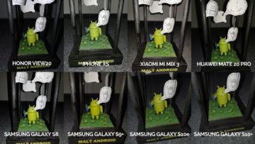 srovnání fotomobilů galaxy s8 s9 s10 mate 20 pro mi mix 3 view 20 iphone xs blesk android postava