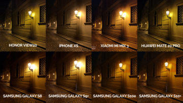 srovnání fotomobilů galaxy s8 s9 s10 mate 20 pro mi mix 3 view 20 iphone xs noc lampa
