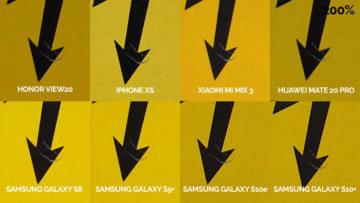 srovnání fotomobilů galaxy s8 s9 s10 mate 20 pro mi mix 3 view 20 iphone xs pozor elektrika detail