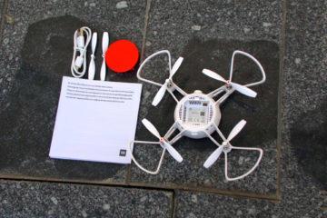 xiaomi mi drone obsah baleni