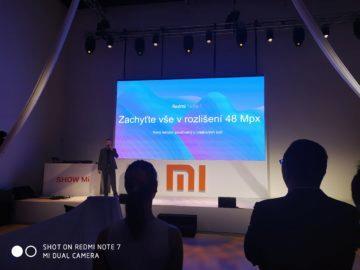 Xiaomi Redmi Note 7 fotografie představení