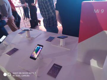 Xiaomi Redmi Note 7 fotografie relefony