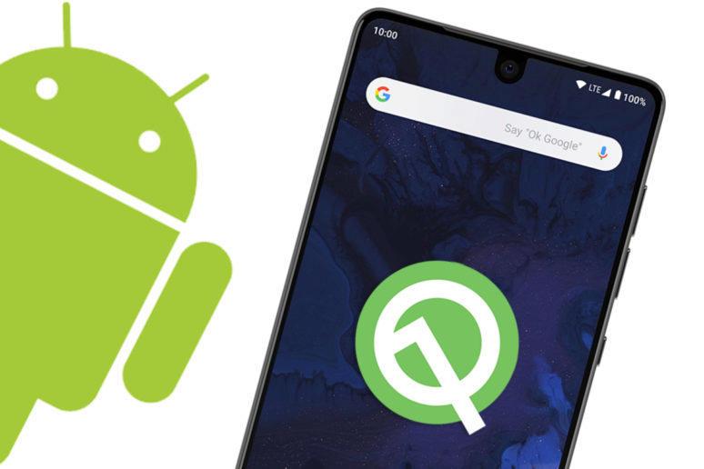 Android Q betaverze odemykani oblicejem